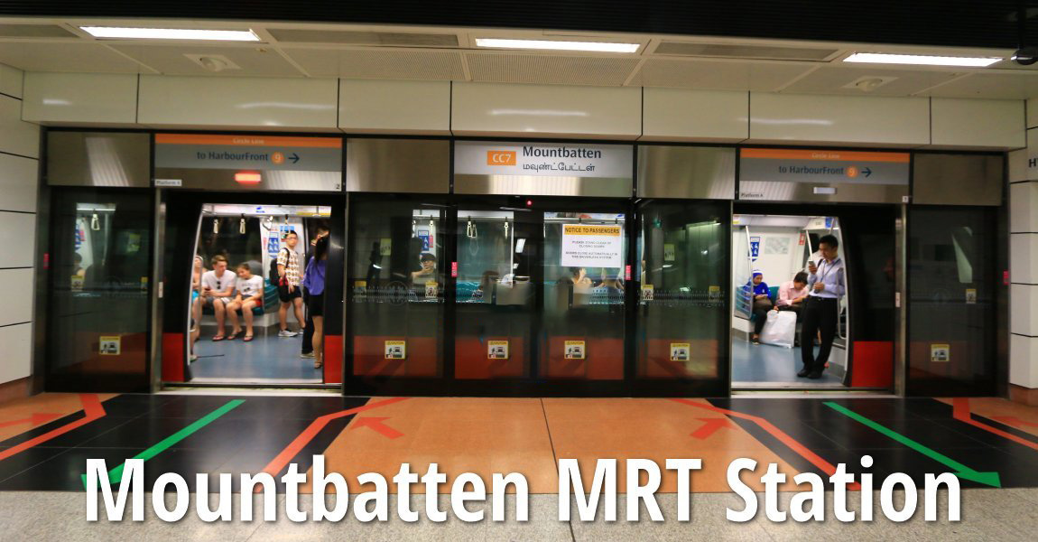 Mountbatten MRT Station (CC7)