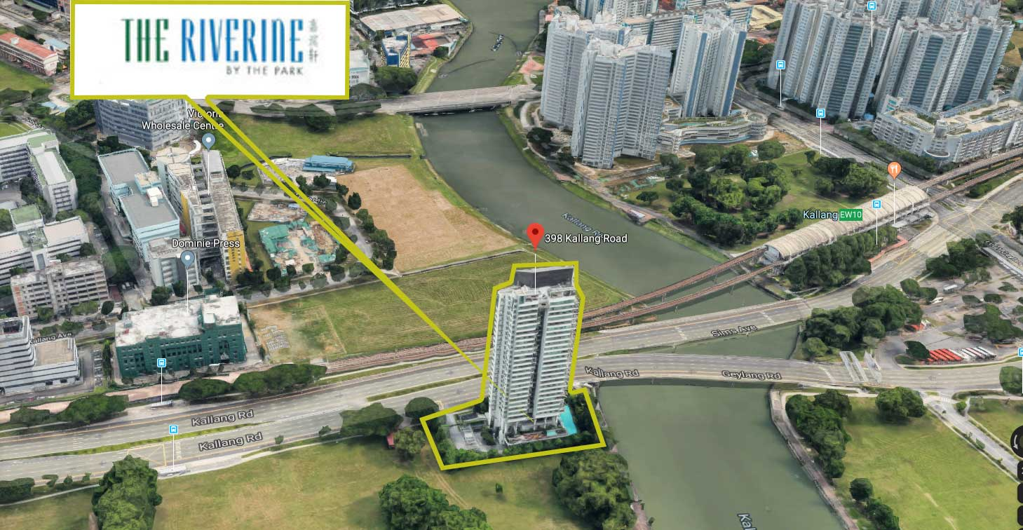 The Riverine by the Park Location