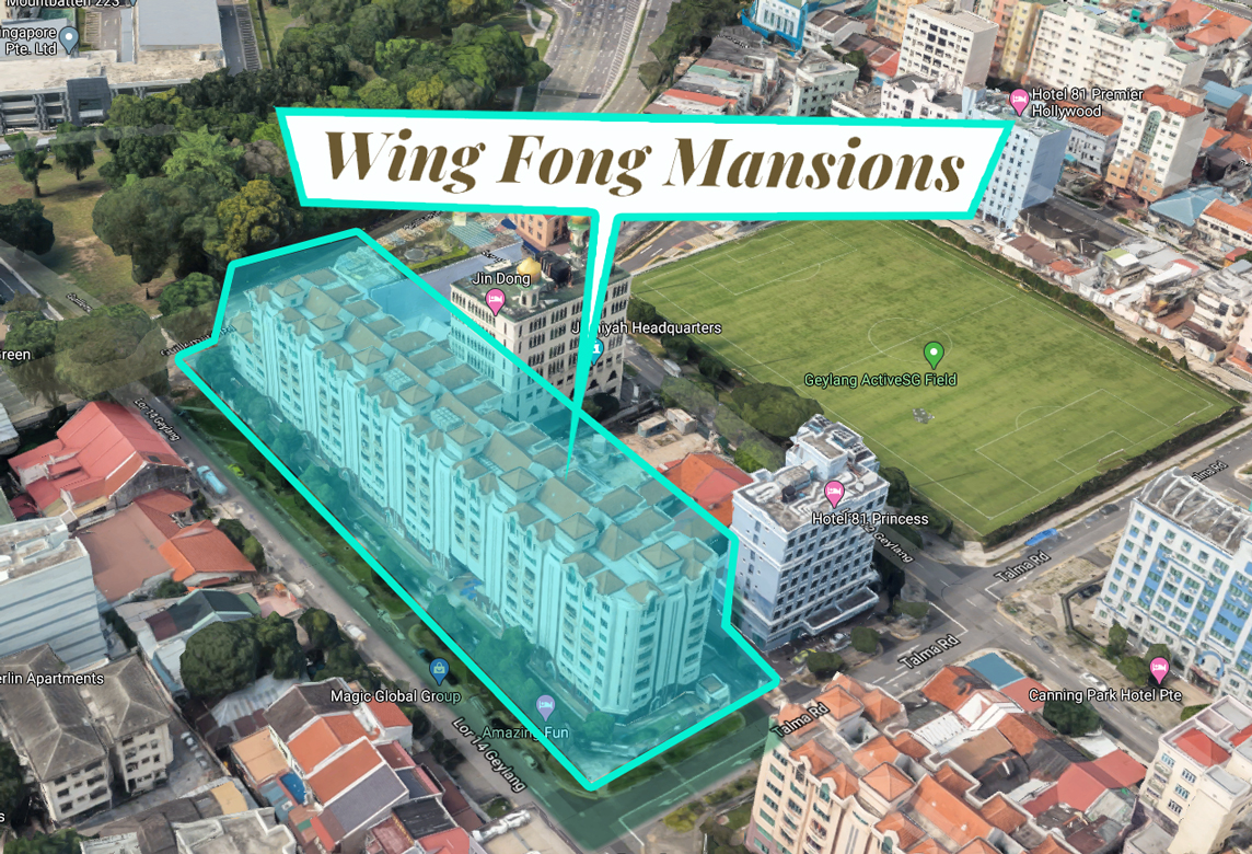 Wing Fong Mansions Location Map 2d