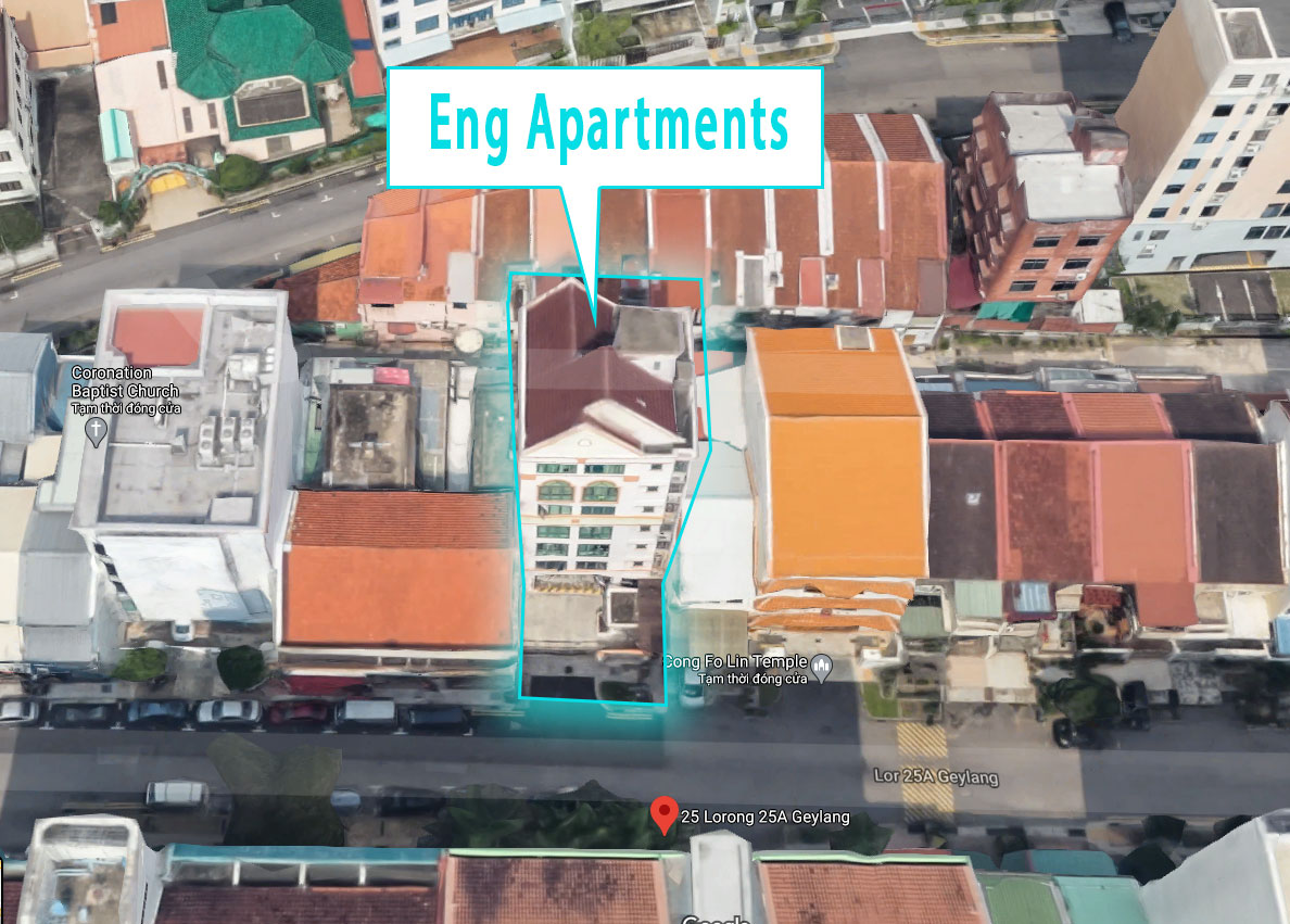 Eng Apartments Location Map